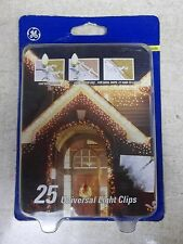 New Pro Line Universal Light Clips, 25 Pack Christmas Lights *Free Shipping*