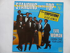 """MAXI 12"""" TEMPTATIONS feat RICK JAMES Standing on the top 310948"""