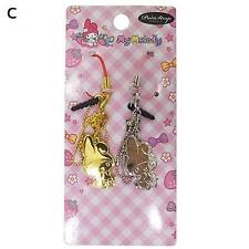 My Melody Pair strap Set of 2 Whole type Gold/Silver Charm Mascot