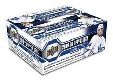 2019 2020 Upper Deck серия 2 хоккей НХЛ запечатанный в розницу 1 коробка + бесплатная НХЛ наушники