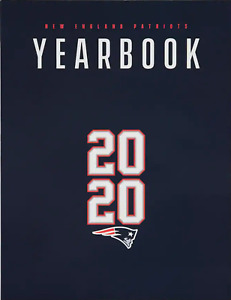 2020 NEW ENGLAND PATRIOTS YEARBOOK BILL BELICHICK JULIAN EDELMAN CAM NEWTON NEW