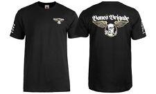 Powell Peralta BONES BRIGADE WINGED RIPPER LOGO Shirt BLACK XL