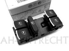 NEU VW Chrom Fensterheber Alu Schalter Golf GTI R32 Passat CC R36 Tiguan Jetta