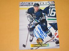 ROBERT KRON AUTOGRAPHED 1994 THE LEAF SET CARD-WHALERS