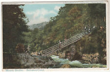 Miners Bridge - Bettws Y Coed Photo Postcard c1905