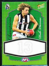 2007 Select Champions Dale Thomas Collingwood Magpies Promo Limited Release