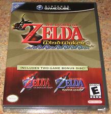 Zelda Wind Waker Ocarina of Time NEW SEALED GameCube