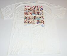 Vintage 1996 Atlanta Olympics Centennial White USA Made T-Shirt Graphic Size XL