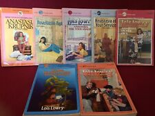 Lois Lowry - Anastasia Books & Others - LOT OF 7