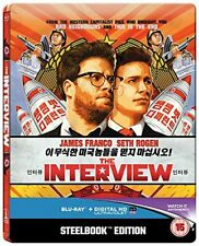 The Interview (Limited Edition Steelbook) [Blu-ray] [2015] [Region Free]