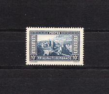 MONACO   paysage de la principauté  10f bleu   de 1933/37   num:  133  **