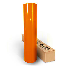 VVIVID orange gloss vinyl FULL CAR WRAP 50ft x 5ft roll 3mil sheet decal sticker