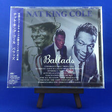 NAT KING COLE: Ballads (EXTREMELY RARE OUT OF PRINT 1996 JAPANESE PRESSING)