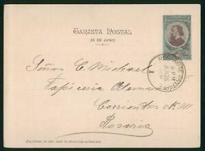 MayfairStamps Argentina Rosario de Santa Fe 1901 Stationery Card wwp62311