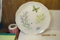 """LENOX BUTTERFLY MEADOW Swallowtail 10 7/8"""" Dinner Plates by Louise Le Luyer"""