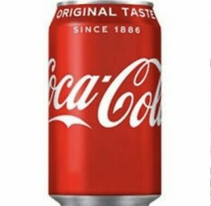 Coca-Cola Coke 330ml Pack of 24 Cans Soft Drink Can Fizzy Drinks