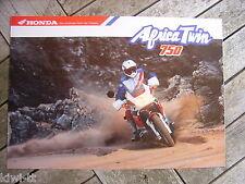 Honda Africa twin 750 prospectus/Brochure/DEPLIANT, D, 1.1990?
