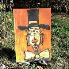 Peinture sur isorel (Henri Chinot)