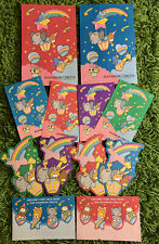 1980s Rare Vintage Sanrio Rainbow Circus Stationary Lot Postcards Paper Envelope
