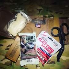 Ankle Medical Kit EDC trauma quikclot tourniquet AFAK IFAK new stocked USA black