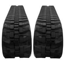 Two Rubber Tracks For Bobcat X334d X334e X334g X334 300x525x80 Bi Tread Pattern