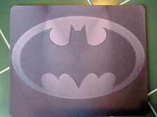BATMAN LOGO Dark ! DC Comics !! Anti slip COMPUTER MOUSE PAD 9 X 7inch