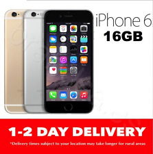 AS NEW iPHONE 6 16GB LTE 4G GREY GOLD SILVER EXPRESS 100% UNLOCKED SR