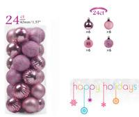 24 Pcs Adornos De Bolas De Navidad y Decoracion Para Arbol De Navidad Nuevo