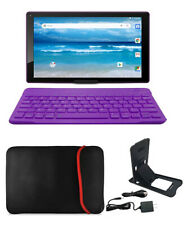 10 Inch Tablet Wifi Portable Bluetooth Keyboard Case And Stand Included Purple