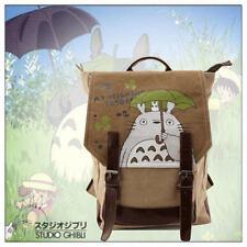 My Neighbor Totoro Canvas Backpack Studio Ghibli School Shoulder Bags Rucksack