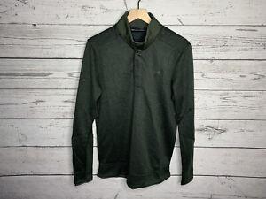 Under Armour Golf Mens Green Coldgear Storm Pullover Sweater Size Medium NWT