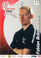 2002-03 German DEG Metro Stars Postcards #2 Fabian Brannstrom
