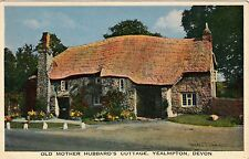 Postcard - Yealmpton - Old Mother Hubbard's Cottage