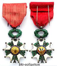Chevalier Légion d'Honneur. Argent. Email. III°République. Avec sa boite. SUP