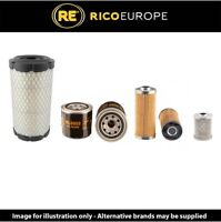 Komatsu PC14R2 Filter Service Kit Air, Oil, Fuel Filters