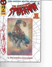Sensational Spider-Man #0 LENTICULAR COVER signed by Dan Jurgens COA NM