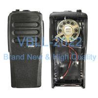 PMLN6345 Black Repair Housing Case Kit W/ OEM Speaker For MOTOROLA CP200d Radio