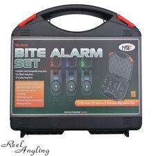 3 VS Wireless Carp Fishing Bite Alarm & Receiver / Twin VS Alarm Set NGT Tackle