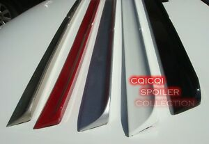 Matte Black Trunk Lip Spoiler For BMW E36 3-series 2D Coupe ◎