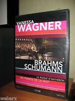 VANESSA WAGNER LES PIANOS DE LA NUIT DVD NUOVO SIGILLATO ROQUE D'ANTHERON