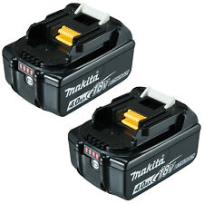 Genuine Makita 18V Lithium BL1840B Battery with Gauge 4.0Ah 2 Batteries-AU Stock