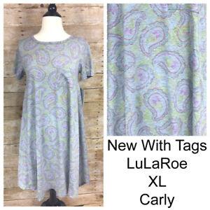 LuLaRoe Carly Dress XLarge, XL, Extra Large