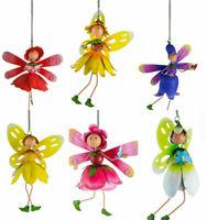 Fountasia Fairy Kingdom Floral Fairy Springer Metal Garden Decoration Cute Gift