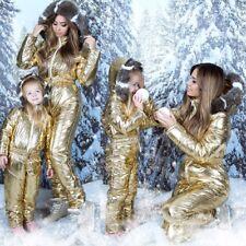 Winter Skisuit Snowsuit Ski Suit Overall Snow Wet Look Gloss Shine Nylon Anzug