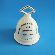 The Bell Collectors Club Of Ontario 20th Anniversary Bell 6/50