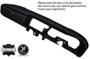 BLACK STITCH DASH DASHBOARD LEATHER SKIN COVER FITS RELIANT SCIMITAR GTE SE5A