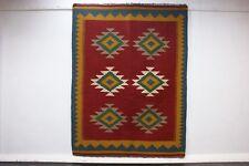 nr 58016 Handgewebter Perser Teppich Ghashgai KELIM Unikat Natur Farbe 192 x 145