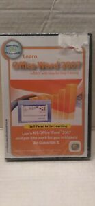 LEARN WORD OFFICE 2007 CD-ROM 2008 Amazing eLearning Windows+ BRAND NEW SEALED