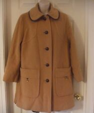 Penguin Fashions M Liman Company Vintage Wool Hound tooth Black White Coat Women