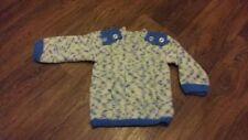 boys hand knitted jumper, 18-24 months.